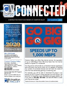 1st Quarter 2020 Connected Newsletter