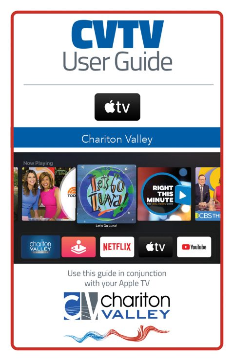 CVTV User Guide for AppleTV